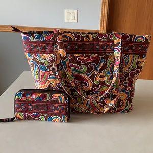 NWOT. Longaberger Sisters Bag & Wallet